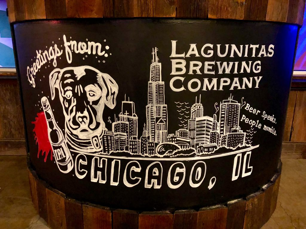 Greetings from Lagunitas Brewing Company Chicago, Il