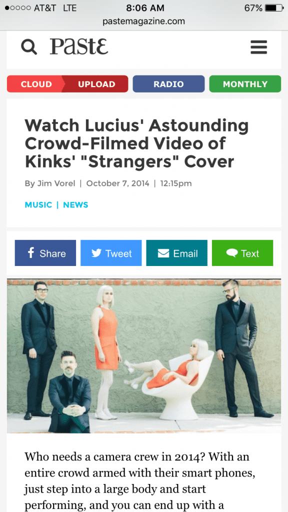 Lucius - Paste News