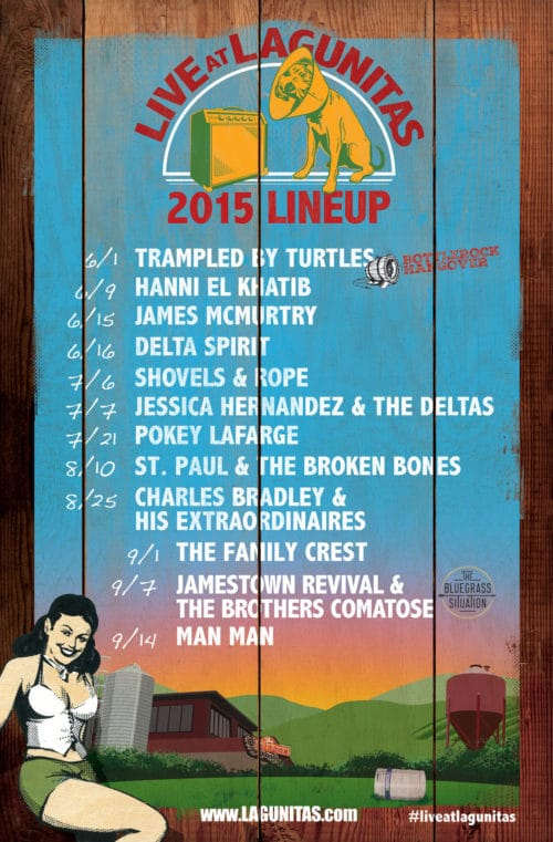 5 Concert Poster 2015 lineup