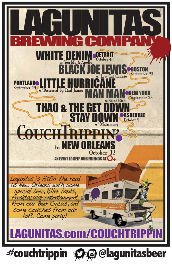 CouchTrippin - poster