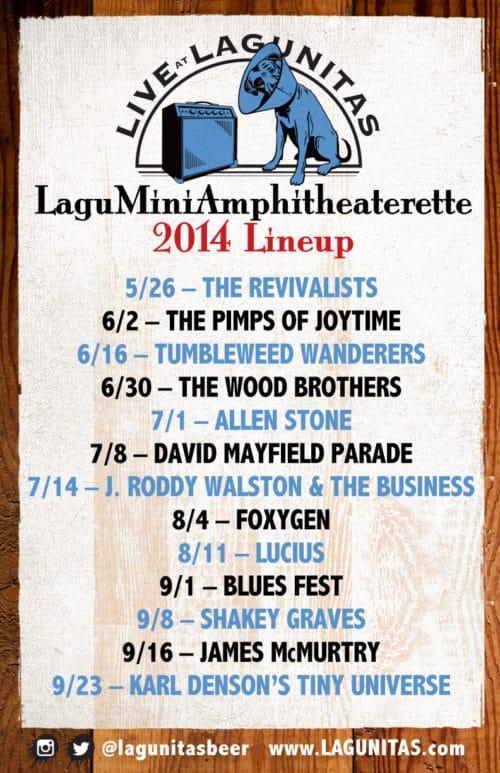 Lagu Mini Amphitheaterette 2014 - poster