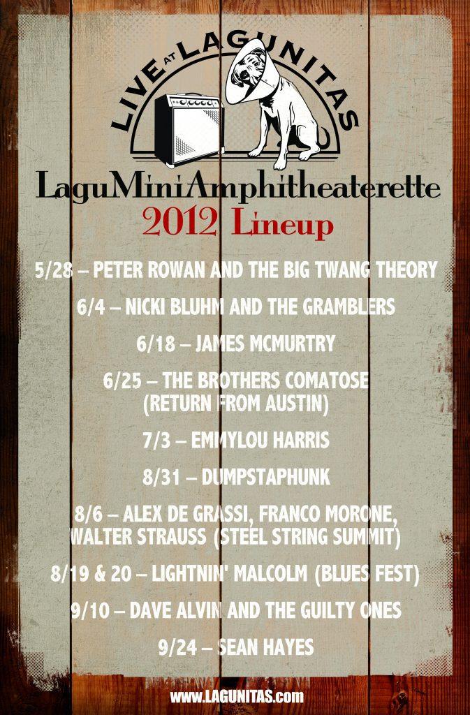 Lagu Mini Amphitheaterette 2012 - poster