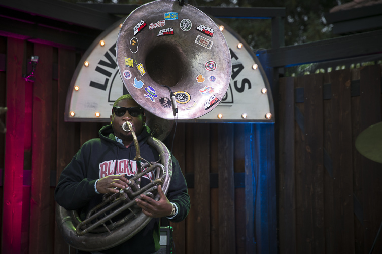 SoulRebs with trombone