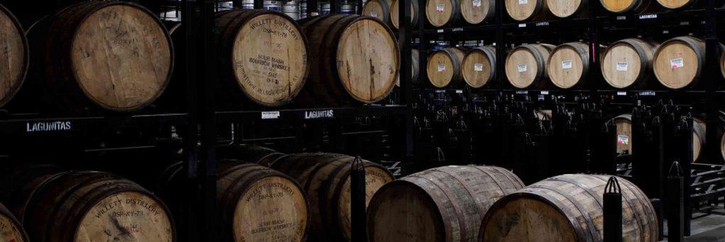 Lagunitas Barrels