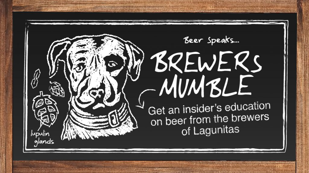 Brewers Mumble: Get an insider's education on beer from the brewers of Lagunitas