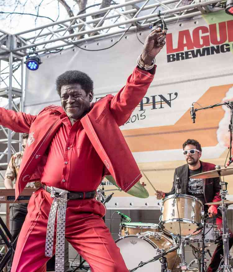 Charles Bradley dancing with smile