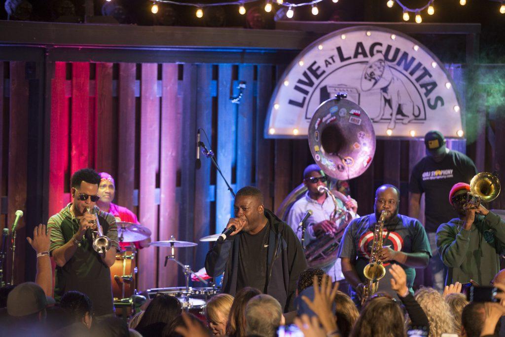 Soul Rebs live at lagunitas