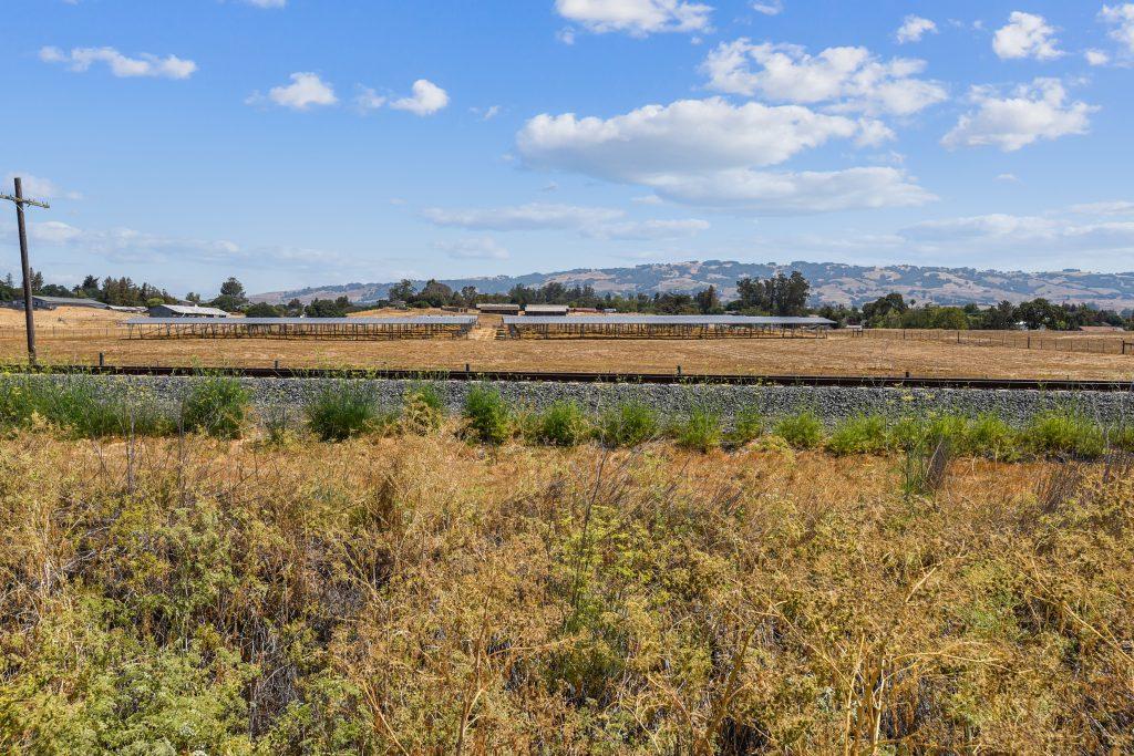 Outdoor shot of the Lagunitas Farm