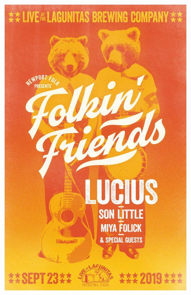 Folkin Friends - poster