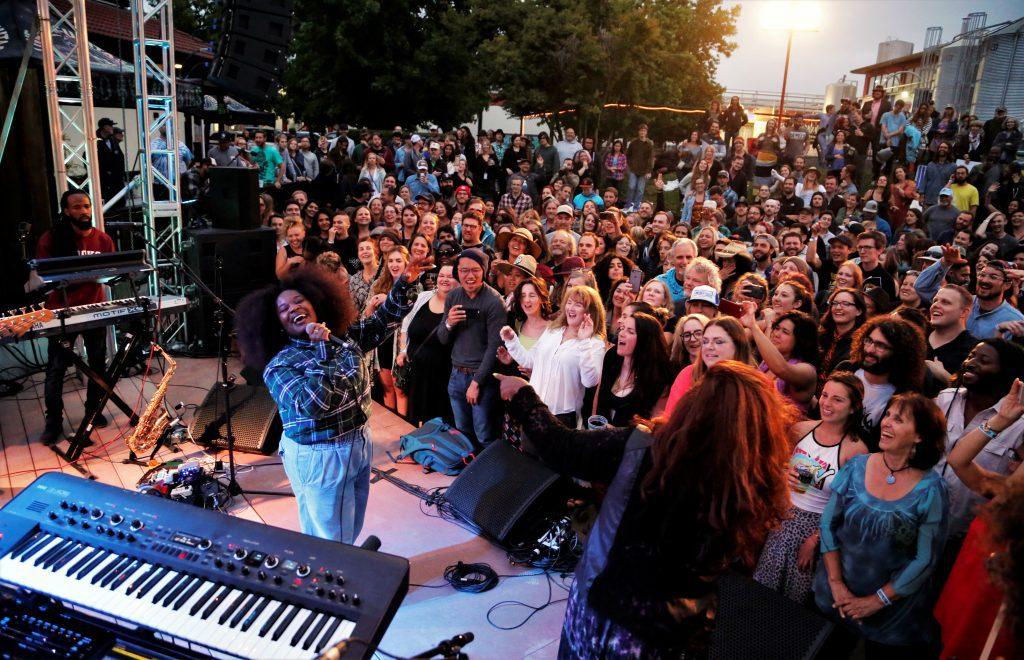 TANK Petaluma party