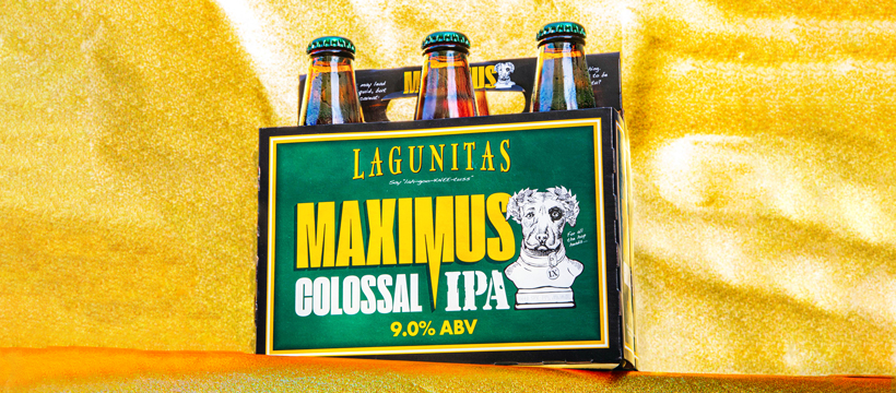 Maximus 6 pack with yellow background
