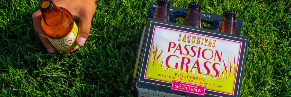 Box with Passion Grass beer