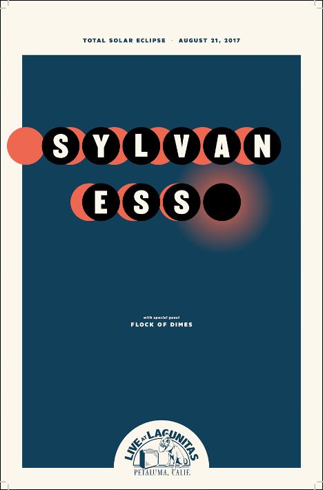 Sylvan ESS & Flock of Dimes - Poster