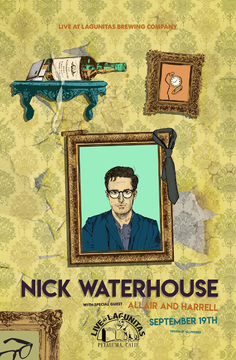 Nick Waterhouse & All Air And Harrell Poster
