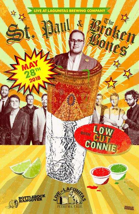 St.Paul & Broken Bones - poster