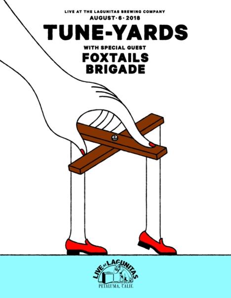 Tune-Yards & Foxtails Brigade
