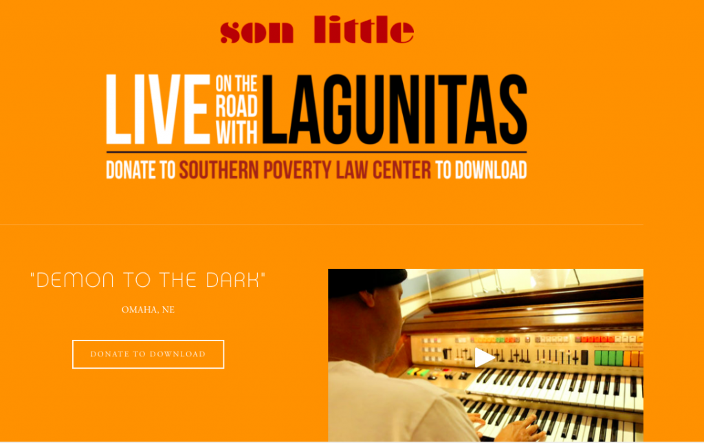 Son Little - live on the road with lagunitas