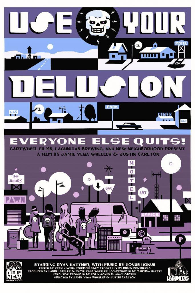 honus honus   use your delusion - poster