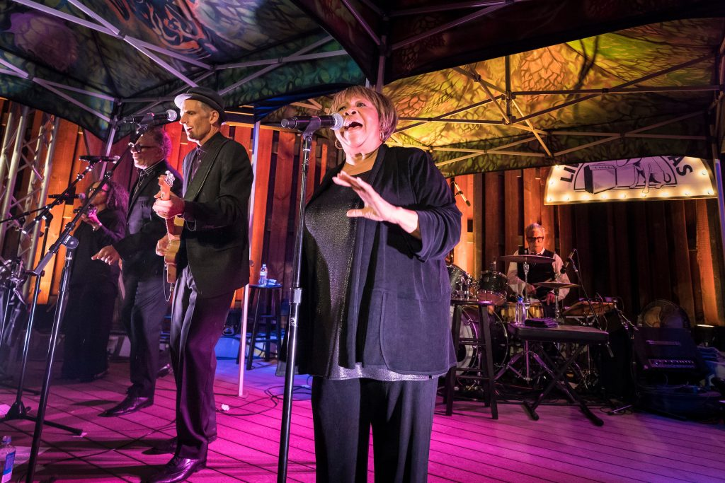Mavis Staples performs at Live at Lagunitas
