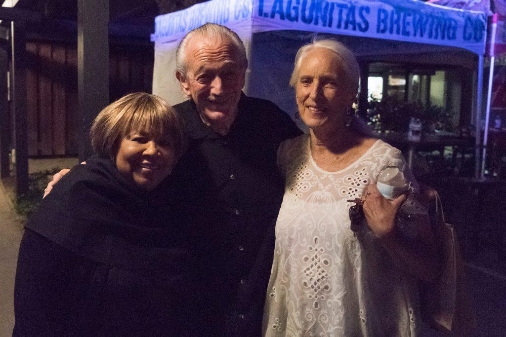 Mavis Staples with fanats - Petaluma
