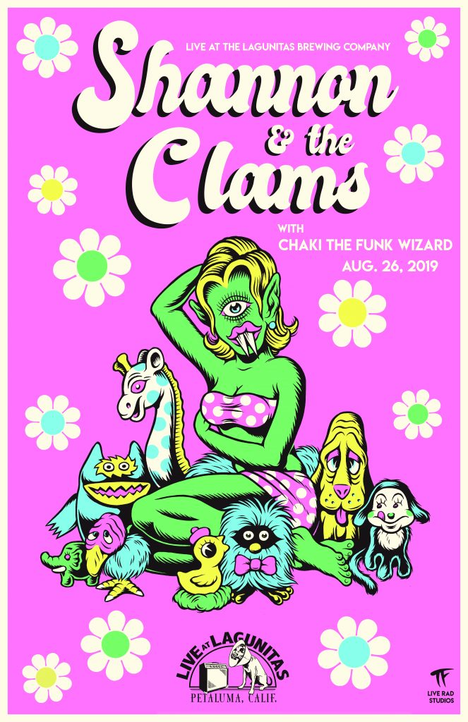 Shannon & the Clams - poster