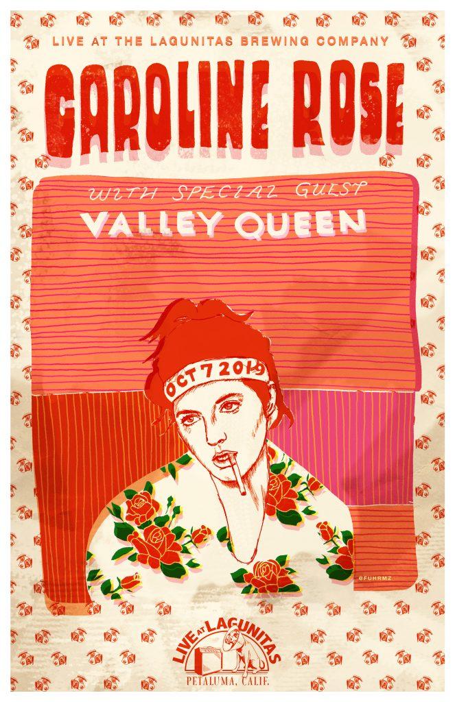 Caroline Rose Valley Queen - poster