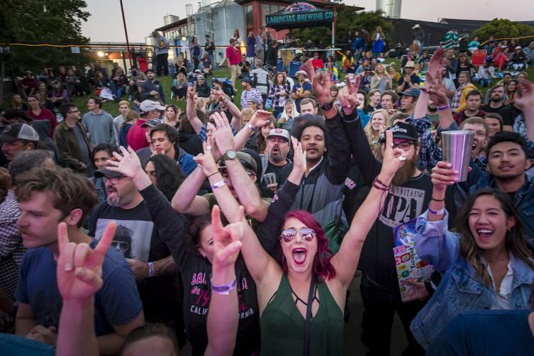 Cherry Glazerr 2017 party fun photo